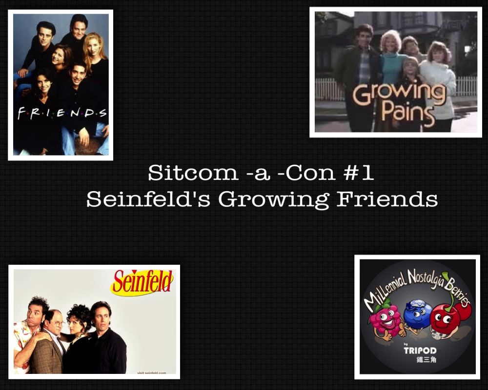 Sitcom-a-Con #1 – Seinfeld's Growing Friends  w/ Vincent Chan
